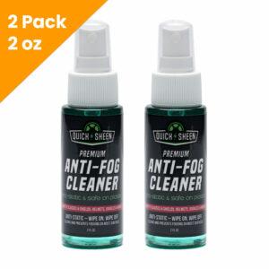 2 Pack Anti-Fog Spray Cleaner