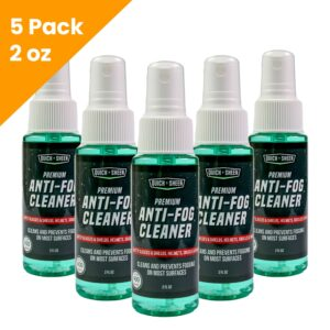 5 Pack Anti-Fog Spray Cleaner