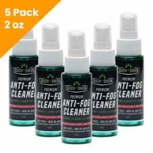 5 Pack Anti-Fog Spray Cleaner