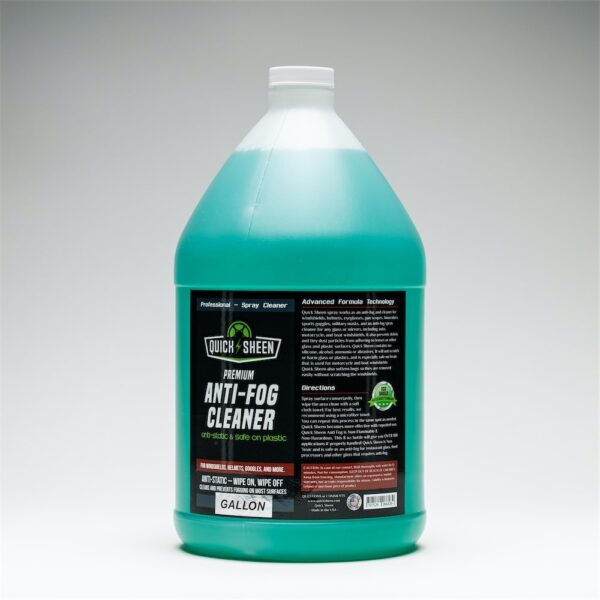 Anti-Fog Cleaner Gallon