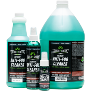 Group of Anti-Fog Spray Cleaners