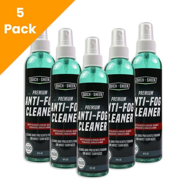 5 Anti Fog Spray Cleaner 5 Pack
